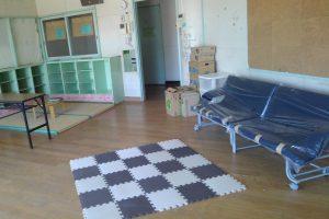 介護者がコロナ感染した障がい者などを支援する旧西田保育園を会派で視察