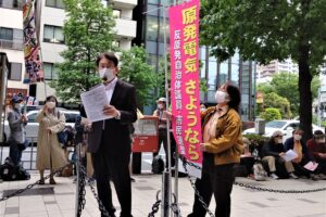 日本原電本社に東海第二原発再稼働中止を申入れ