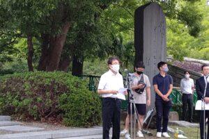 関東大震災98周年朝鮮人犠牲者追悼の辞